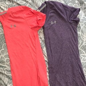 Two Under Armour T-shirt's